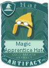 Magic Apprentice Hat Yellow