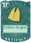 Cotton Singlet Mint