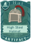 High Steel Helmet