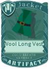 Wool Long Vest 2 Green