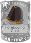 Foreboding Coat Black
