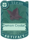 Demon Crystal