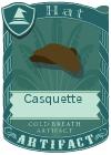 Casquette brown