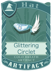 Glittering Circlet Blue
