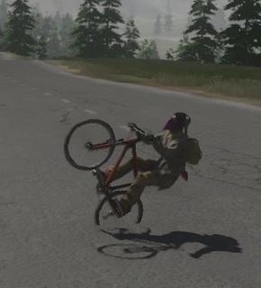 Bicycle wheelie