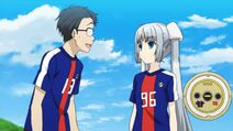 Miss-monochrome-supporter-ru-chan-the-roomba-manager-maneo-world-cup-japanese-national-team-uniform-samurai-blue-promotional-video-ova