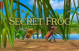 Sunny Patch Secret Frog Title