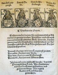 Barone des HRR by Peter Jordan of Mainz