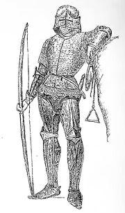 Bogenschütze, Frankreich 15. Jh, kriegswaffen00demmin p0892