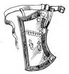 Tartarischer Pfeilköcher 16. Jh handbuchderwaff00collgoog, Fig477