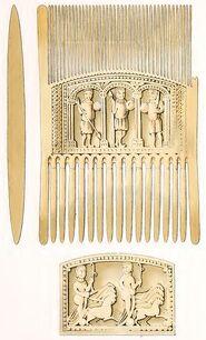Kamm St. Hildegard, trachtenkunstwer01hefn Taf.002