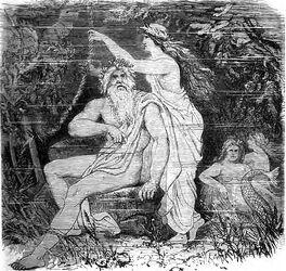 Aegir und Rán by F. W. Heine