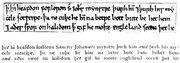 Angelsächsische Schrift RdGA Band 1 Tafel 06-12