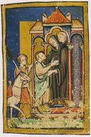 Vita sancti Cuthberti Beda Cuthbert and Boisil