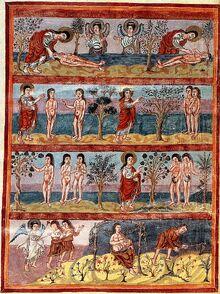 Grandval Bible, Genesis, fol. 5b RdgA Bd3, Taf.011, Abb.012