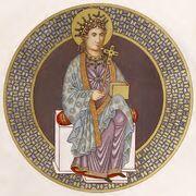 St. Helena, Cod. Sal., 770-850, trachtenkunstwer01hefn Taf.009.jpg