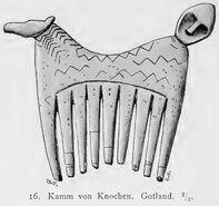 Knochenkamm, Gotland, kulturgeschichte00mont Abb.016
