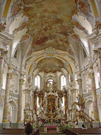 Basilika Vierzehnheiligen, Oberfranken, Thüringen 2005-07-01