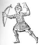 Bogenschütze 10.Jh, kriegswaffen00demmin p0889, Fig.01