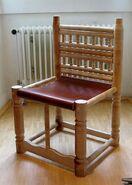 Alemannischer Stuhl, Trossingen, 6.Jh