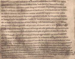 Mittelhochdeutsche Schriftdenkmäler des XI bis XIV Jahrhunderts Seite 33