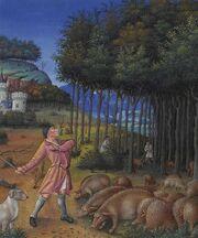 Stundenbuch Herzog von Berry 1416 November