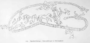 Sigurdszeichnung Södermanland kulturgeschichte00mont Fig.525