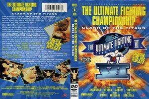 UFC 6 DVD cover