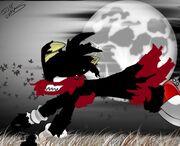 Tails The Werefox (Fan-Art) 2