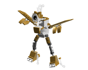 Aerodites Max by JTC in LEGO form