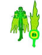 Glorom Glorp Corp Ooze Swordsman