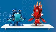 Flain and Slumbo in LEGO site 2.