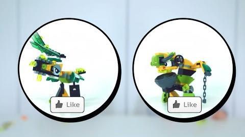 LEGO® Mixels 12 - Slimey Worker Goo Mix - Designer Challenge