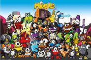 Mixels Group Picture