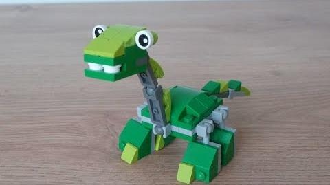 LEGO MIXELS SERIES 10 MOC Instructions DIPLO DINOSAURZ Tribe