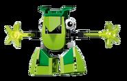 LEGO MIXELS Torts Transparent