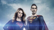 Supergirl and Superman Slider