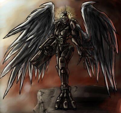 Angel by tyrantwache