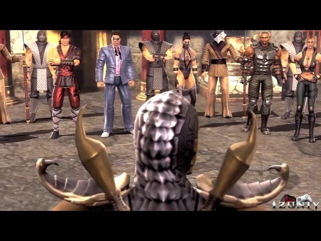File:Khameleon appears in the story mode of Mortal Kombat 9 in a UMK3 costume..jpg
