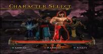MKSM Character Select Screen