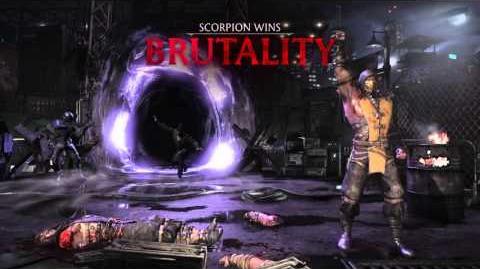 Scorpion Brutality 3 - Just a Scratch