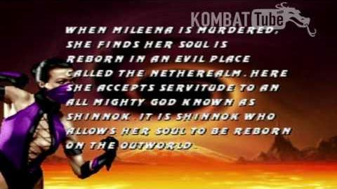 MK III Ending- MILEENA