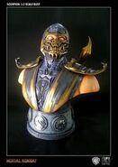 Scorpion Action Figure Buste