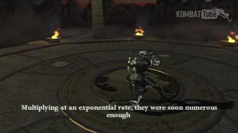 MK Armageddon Ending Smoke