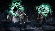 MKX Quan Chi and Scorpion