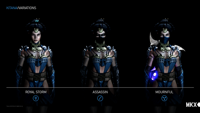 File:MKX Kitana's Variations.png