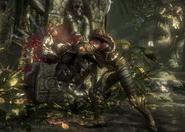 MKX Scorpion Bashing Skull Stage Brutality