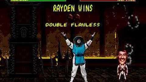 Mortal Kombat II - Rayden Fergality