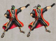 Mortal Kombat Deception Ermac Alternate Concepts
