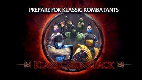 Mortal Kombat DLC Klassic Skins Pack